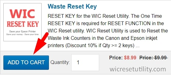 buy wic reset key - Step 2: click add to cart