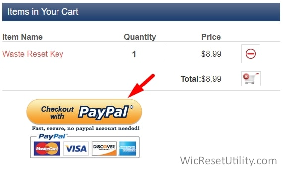 checkout with Paypal using Debit or credit card